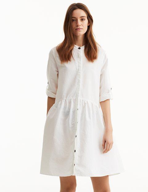 a11743fa38e4 Shop Albana Dress - White - mbyM
