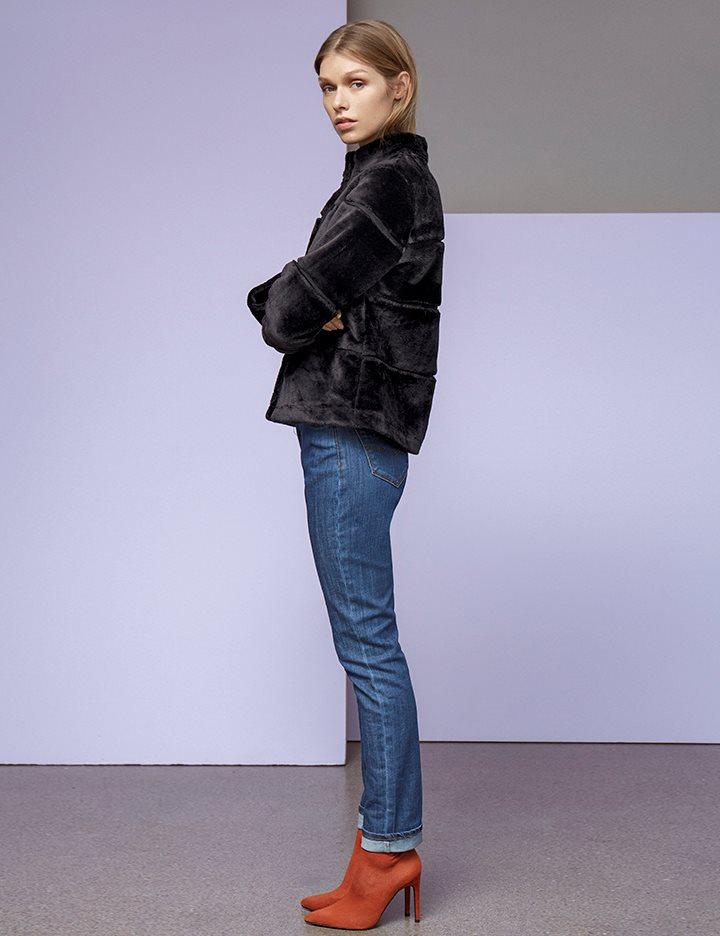 4a0b9eab Shop Calliope Jacket - Black - mbyM