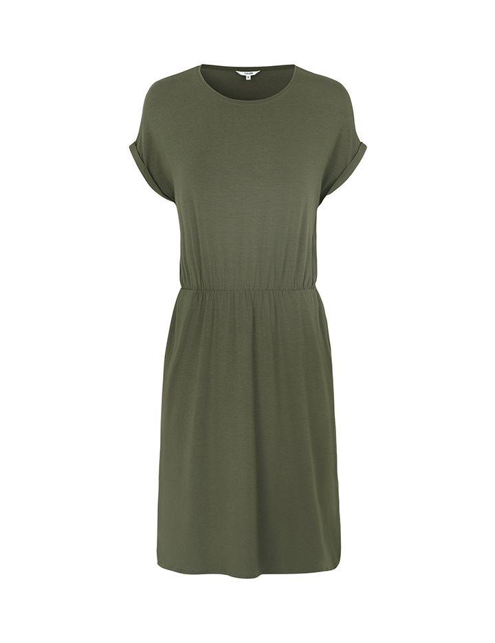 3aeb9481ce5 Shop Deep Dress - Army - mbyM