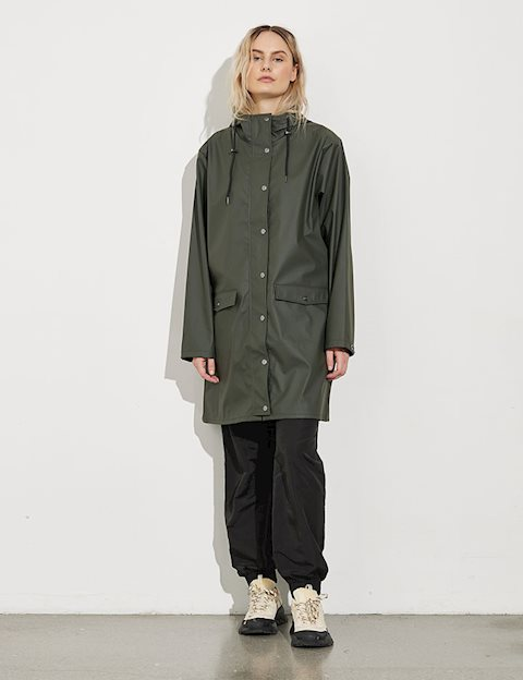 a222eee007b Shop Fabiola Festival Raincoat - Army - mbyM