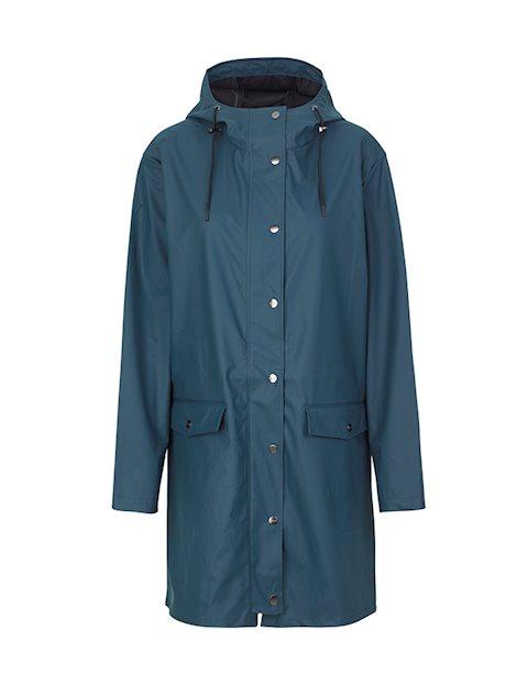 59a7e96189c Shop Fabiola Festival Raincoat - Petroleum Blue - mbyM