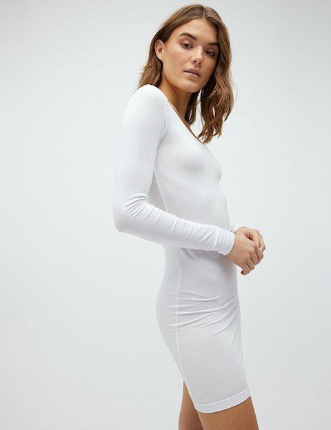 92bd5c0a865 Shop Hanna Gogreen Dress - White - mbyM