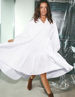 4e0ca259da49 Kizzy Dress - White