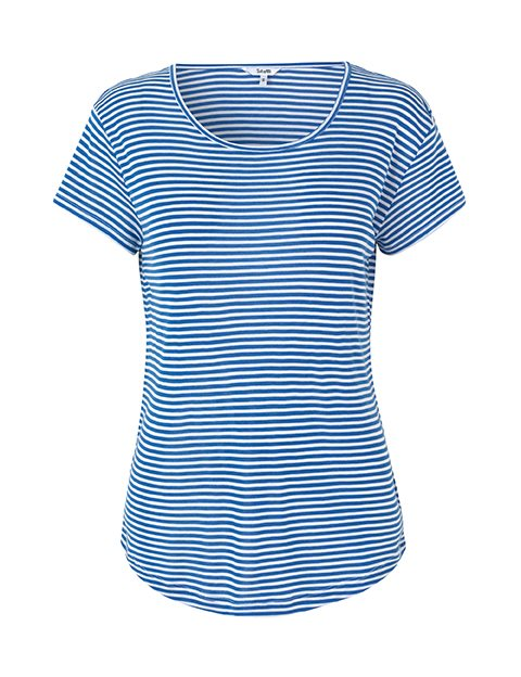 61423339c1a Shop Lucianna T-shirt - Striped - mbyM