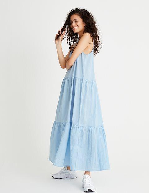 4b416cb2c50e Shop Marla Dress - Blue - mbyM