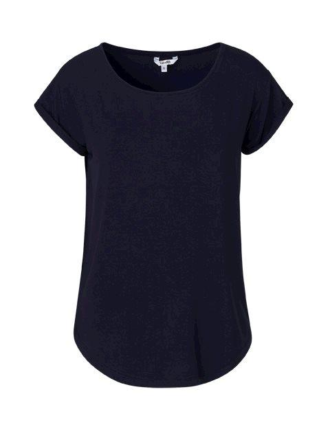 3e610a0308e Shop Nisha Gogreen Basic T-shirt - Blue - mbyM