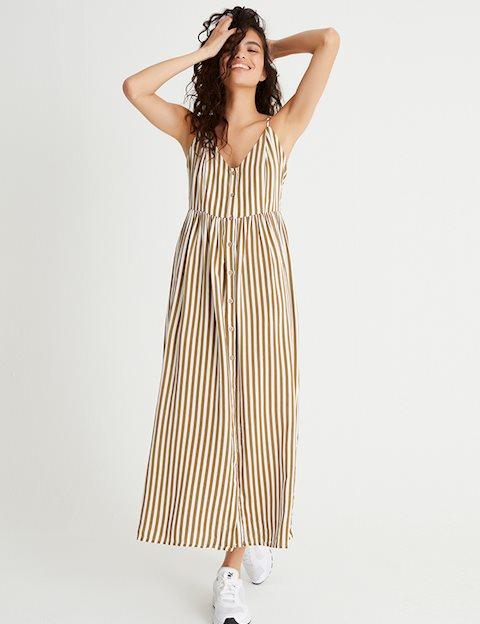 5f176673df71 Shop Pinny Dress - Brown - mbyM