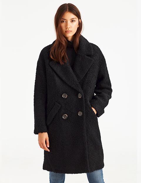 d910b87d3a6 Shop Tyra Coat - Black - mbyM